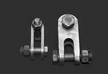 China Power Transmission Clevis Hinge Galvanized Steel Materials Stable Structure supplier