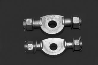 China Stainless Steel Clevis Plate GD Type Short Installation Time For Insulator String supplier