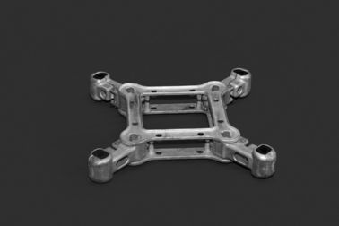 Aluminum Alloy Power Line Spacers Square Frame Type For Overhead Conductor