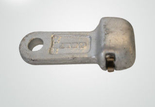 Silver Color Clevis Fitting Hot Dip Galvanized Forged Steel ISO9001 Certificaion